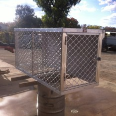 Alloy Two Dog Cage no.3