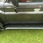 Brushrails Double 3 inch