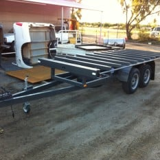 Extendable Skeletal Trailer 2