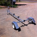Fold Up Boat Trailer 2