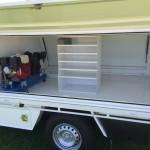 Sub Floor Air Reciever & Compressor Setup