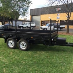 Three Way Extendable Tipper Trailer 2