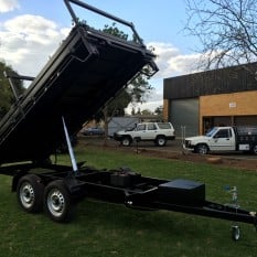 Three Way Extendable Tipper Trailer 4