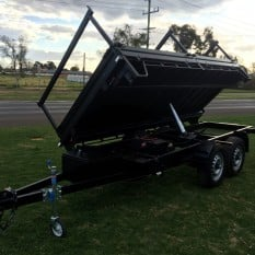 Three Way Extendable Tipper Trailer 5