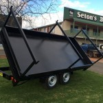 Three Way Extendable Tipper Trailer 8