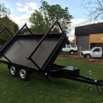 Three Way Extendable Tipper Trailer 9